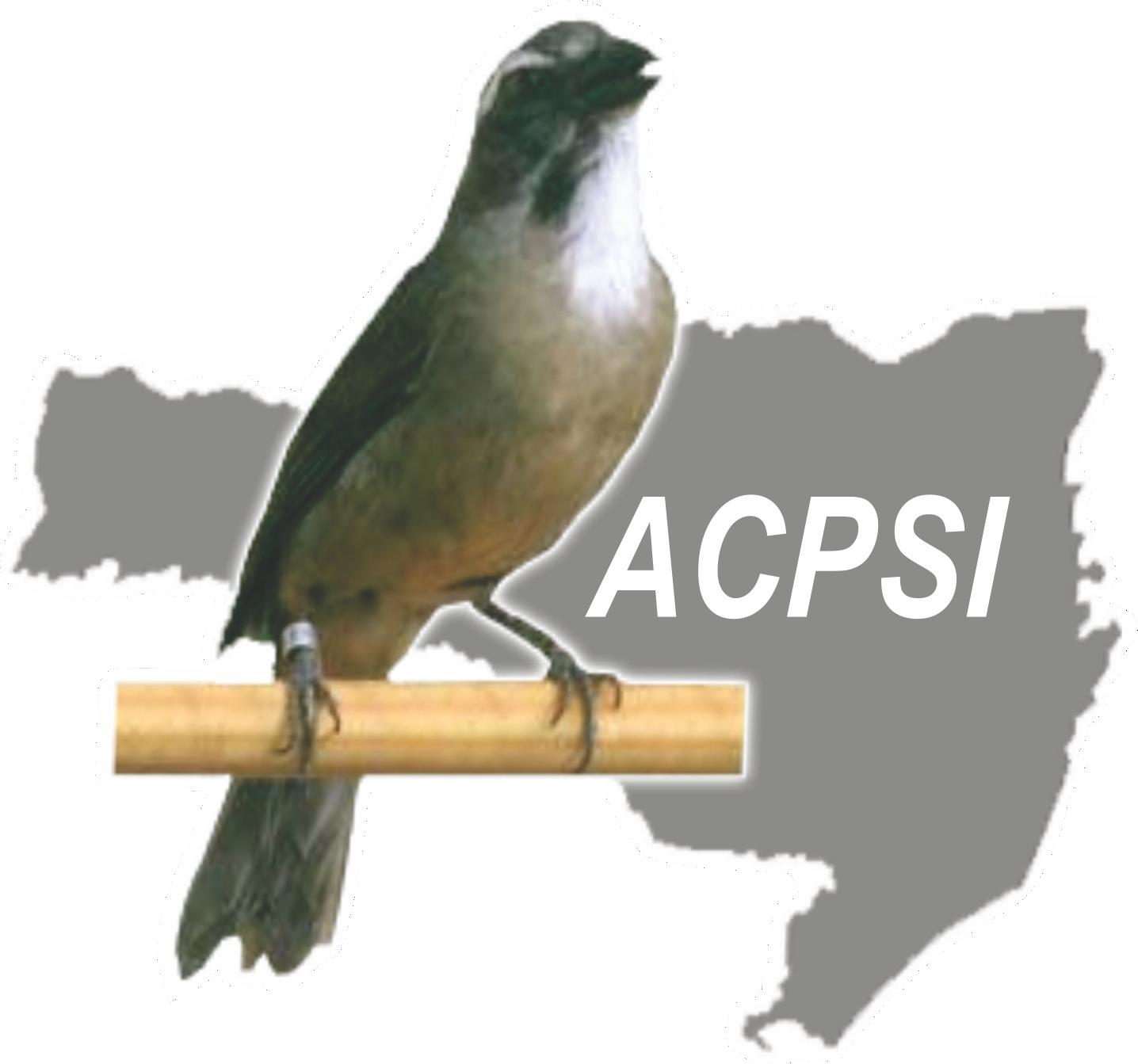 Logo da ACPSI - Associação dos Criadores de Pássaros Silvestres de Ituporanga.